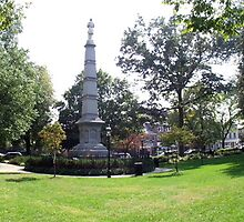 Civil War monument in Morristown, NJ by muldrake