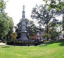 Civil War monument in Morristown, NJ by muldrake