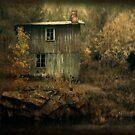 Silence by the river by Morten Kristoffersen
