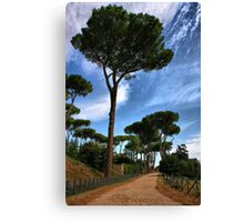 Road to Rome Canvas Print