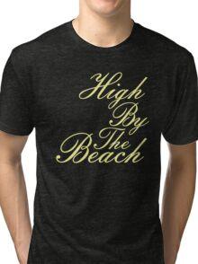 By The Beach Tri-blend T-Shirt