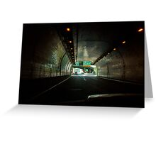 The Wheeling Tunnel Greeting Card