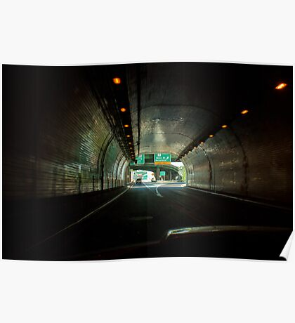 The Wheeling Tunnel Poster