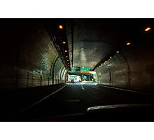 The Wheeling Tunnel Photographic Print