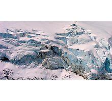 Blue Ice Photographic Print