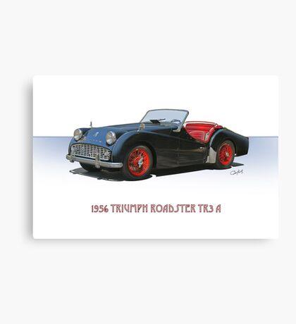 1956 Triumph TR3 A Canvas Print