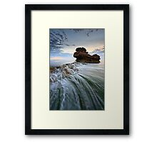 Thrills & Spills Framed Print