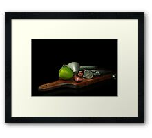 Squeezers Framed Print