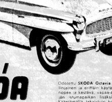 Skoda Advert.... Sticker