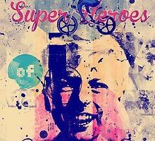Superheroes of BMX by sotos anagnos