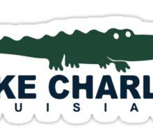 North Beach - Lake Charles. Sticker