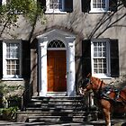 Beautiful House on Meeting Street in Charleston by Susanne Van Hulst