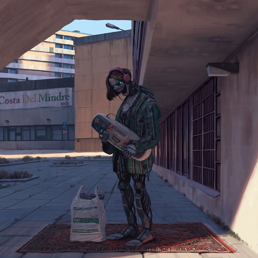 Vagabonds - Liam by Simon Stålenhag