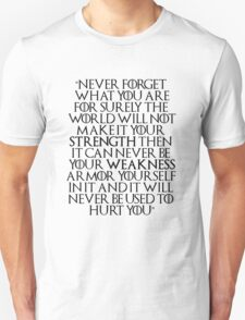Game of Thrones - Tyrion Quote T-Shirt