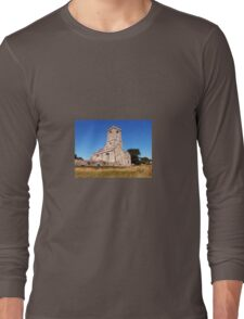 Woodspring Priory at Sunset Long Sleeve T-Shirt