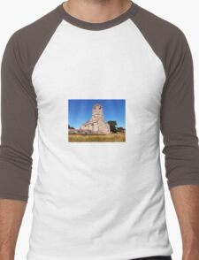 Woodspring Priory at Sunset Men's Baseball ¾ T-Shirt