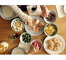 Feast with Friends Photographic Print