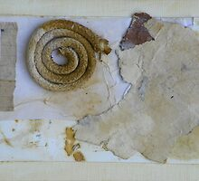 Mixed Media Collage #1 by Caren