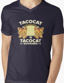 Tacocat Mens V-Neck T-Shirt
