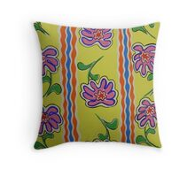 """Flowers - vertical"" Throw Pillow"