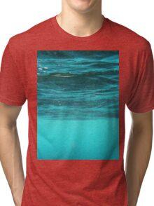 Blue Immersion Tri-blend T-Shirt