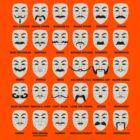Guy Mustache by block33