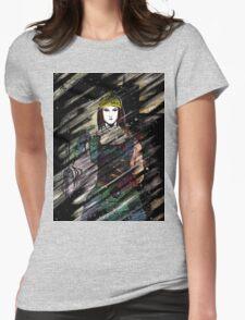 Onna Bugeisha Womens Fitted T-Shirt
