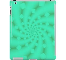 Tess Fractal in Honeydew iPad Case/Skin