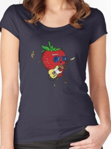 Strawberry Jam, T-style Women's Fitted Scoop T-Shirt