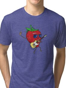 Strawberry Jam, T-style Tri-blend T-Shirt