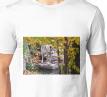 Timber Wolf by Pond Unisex T-Shirt