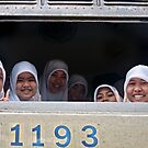 Faces On A Train by Dave Lloyd