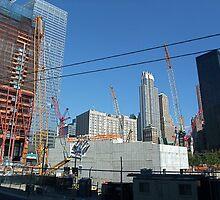Ground Zero, NYC September 11, 2010 by RonnieGinnever