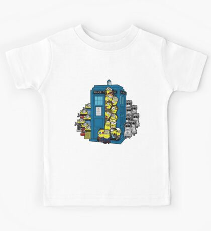 Behind You Doc Minion Kids Tee
