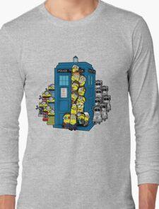 Behind You Doc Minion Long Sleeve T-Shirt