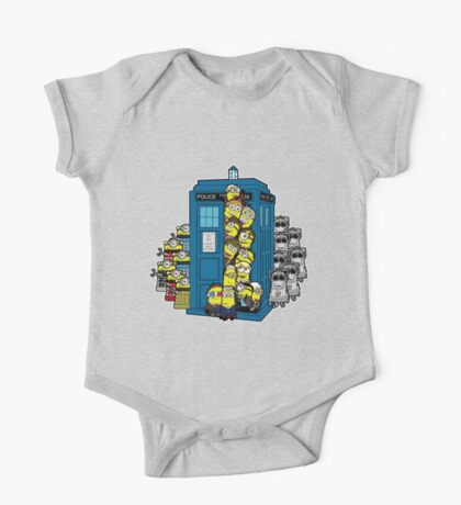 Behind You Doc Minion One Piece - Short Sleeve