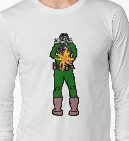 Slash and Burn Man Long Sleeve T-Shirt
