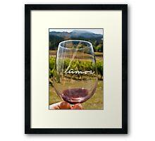 Lumos Winery Framed Print
