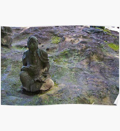 Stone Buddha 05 Poster