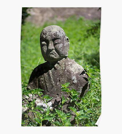 Stone Buddha 06 Poster