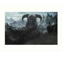 Skyrim - Nord Art Print
