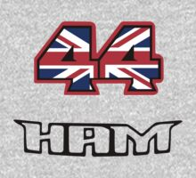 44 Brit flag HAM  T-Shirt