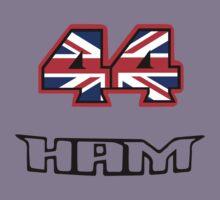 44 Brit flag HAM  Kids Tee