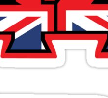 44 Brit flag HAM  Sticker