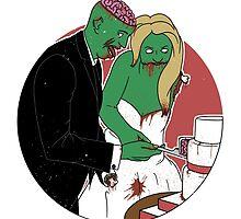 Zombie Wedding by BenjyyHart