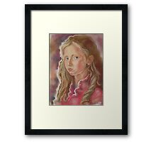 The Beauty Of You Framed Print