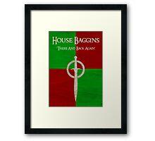 House Baggins - Collection Framed Print