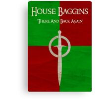 House Baggins - Collection Canvas Print
