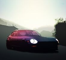 Datsun 240z by Willohbe