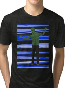 Aliens wear Jeans! Tri-blend T-Shirt